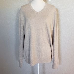 Banana republic Cashmere v neck sweater mens
